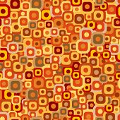Seamless tiles background in autumn colors. Clipping mask used