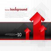 Abstract background for design poster