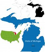 State of Michigan, USA