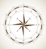 stock photo of wind-rose  - Wind rose - JPG