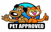 Pet Approved Seal, Mark, Emblem