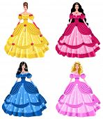 fairy tale princesses