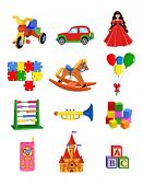 picture of toy phone  - vector toys - JPG