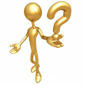 image of question-mark  - A Concept And Presentation Figure in 3D - JPG
