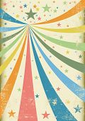 stock photo of school carnival  - Grunge carnival A retro circus background for a poster - JPG