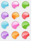 Bubblegum web 2.0 stickers