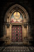 picture of entryway  - Entrance door of St - JPG