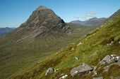 picture of gneiss  - The top of Liathach - JPG
