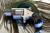 picture of derringer pistol  - Pretty but deadly this five shot  - JPG