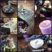 Lavanda Dayspa Collage
