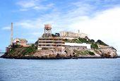 foto of alcatraz  - Alcatraz island famous prison in San Francisco - JPG