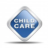 stock photo of babysitting  - child care in daycare or cr - JPG