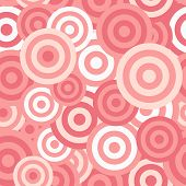 stock photo of hypnotic  - Hypnotic Seamless Pattern Background - JPG