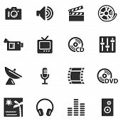 stock photo of internet icon  - Vector web icons - JPG