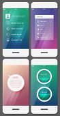 picture of dial pad  - Mobile user interface template  - JPG