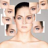 stock photo of ophthalmology  - Portrait of young - JPG