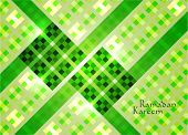 stock photo of hari raya  - Vector of Hari Raya Ketupat for Muslim celebration - JPG