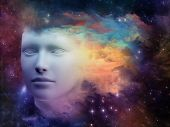 stock photo of hallucinations  - Colorful Mind series - JPG