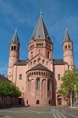 stock photo of dom  - Mainzer Dom cathedral in Mainz in Germany - JPG