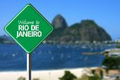 stock photo of ipanema  - Welcome to Rio de Janeiro - JPG