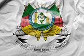foto of bandeiras  - Amazing Flag of the Coat of the State of Rio Grande do Sul - JPG