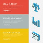 foto of payment methods  - Flat design concept for legal support - JPG