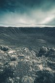 picture of meteors  - Meteor Crater Landscape - JPG