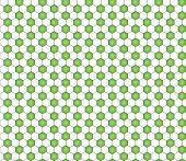 foto of hexagon pattern  - seamless pattern with black and white hexagons like football ball pattern - JPG