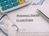 picture of injury  - personal injury claim form - JPG