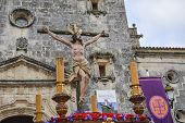 picture of passion christ  - Holy Week in Spain procession of  - JPG