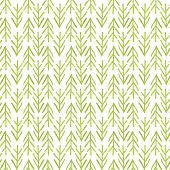 stock photo of primitive  - Seamless pattern of green watercolor primitive cristmass trees - JPG