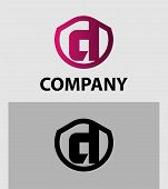 image of letter d  - Letter D logo icon design template elements - JPG