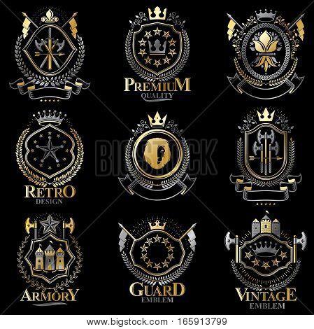 Heraldic Coat Of Arms Created