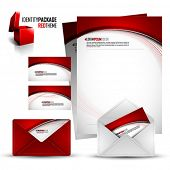 stock photo of letterhead  - Identity Kit  - JPG