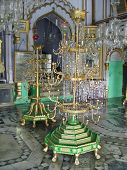 image of muharram  - Imam Bargah Husainabad the famous chota imambada of lucknow - also called chota imambara - or husainia - a place of worship for shiites