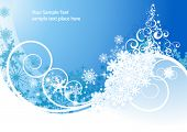picture of merry christmas  - Winter background - JPG