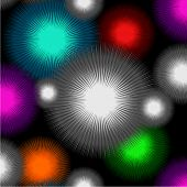 color lights - seamless pattern