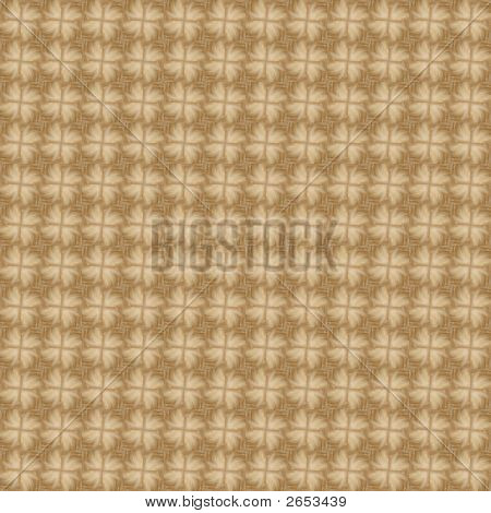 poster of Seamless Background Tiles. Fluffy Flowers