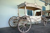 pic of hearse  - hearse the kings palace complex in Surakarta - JPG