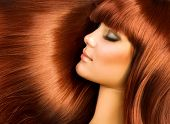 image of red hair  - Healthy Hair - JPG