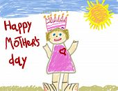 Happy Mother'S Day Drawing