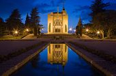 stock photo of console-mirror  - Church of Penha in Guimaraes Portugal - JPG