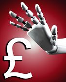 Robo Hand And Money