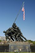 Marine Corps Monument poster