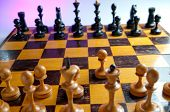 Chess. Focus on pawn