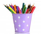 pic of non-permanent  - Colorful pencils and felt - JPG
