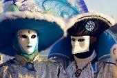 Постер, плакат: Портрет красивой карнавале маски в Венеции Италия