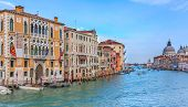 image of academia  - The Grand Canal of Venice from Academia Bridge - JPG
