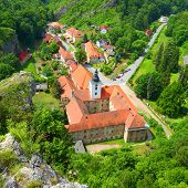 stock photo of bohemia  - Saint John under the Cliff  - JPG