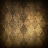 image of harlequin  - Classic argyle grunge background - JPG
